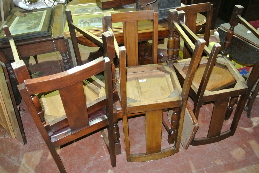 001.6 Kitchen Chairs.