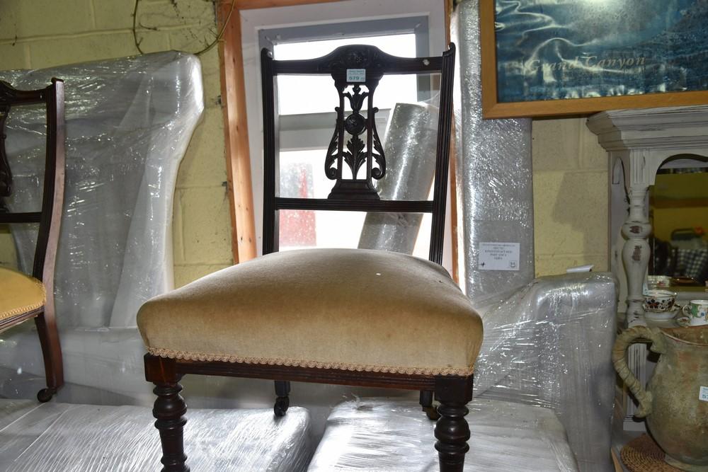 579.Pr. Edw. Bedroom Chairs.